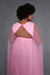 Kamila Double Side Slit Winged Gown  Pink (Small to 3XL)