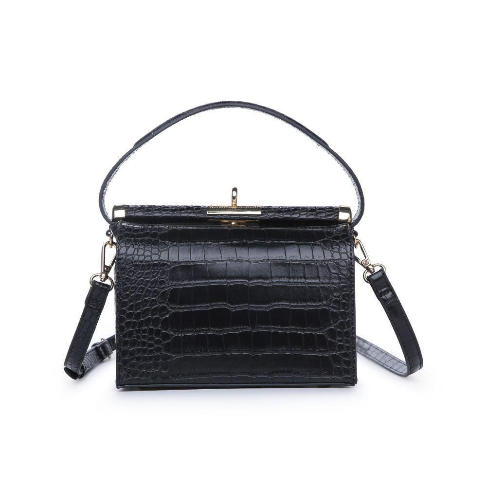 Cecile Top Handle Croc Bag