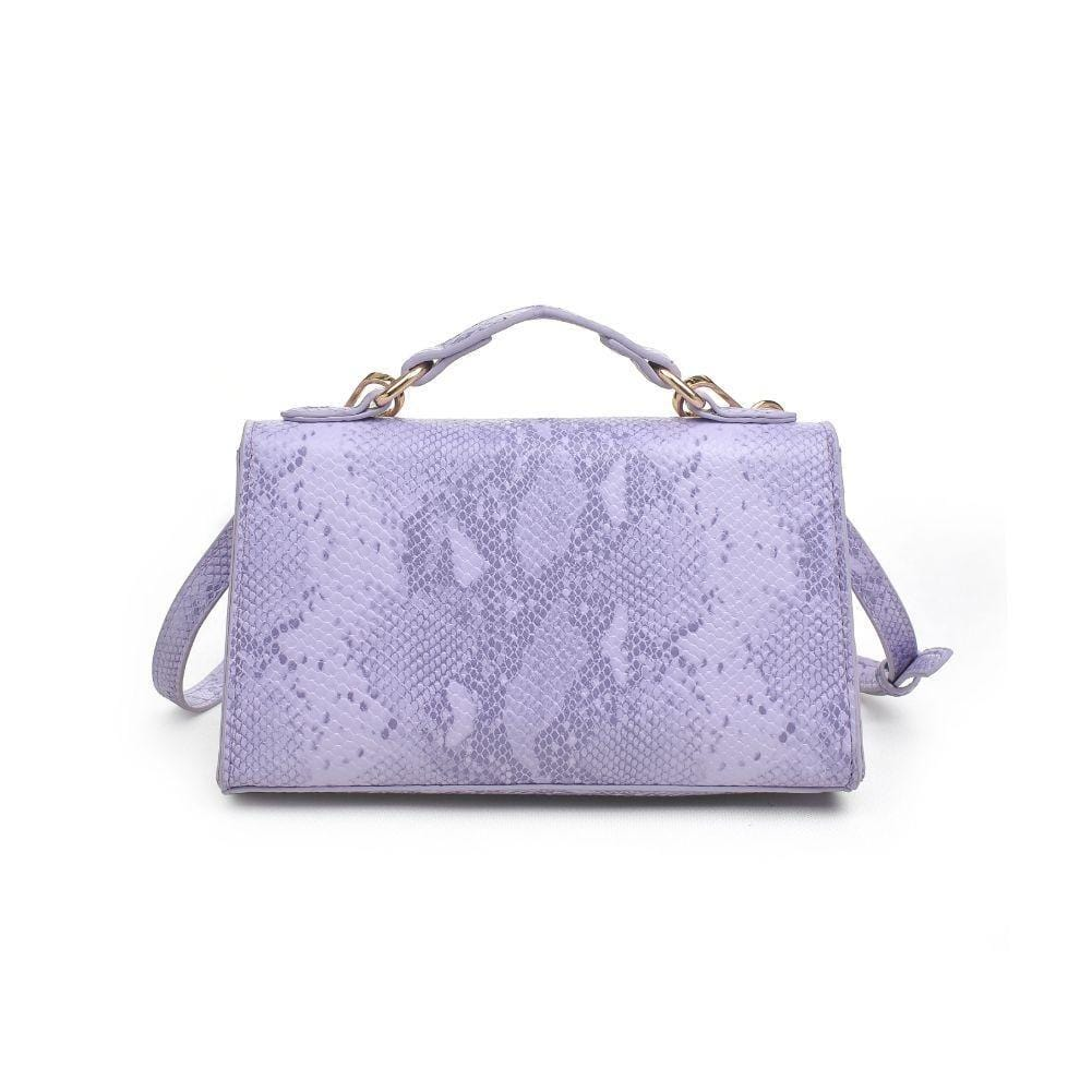 Georgina Snake Top Handle Bag (Lilac)