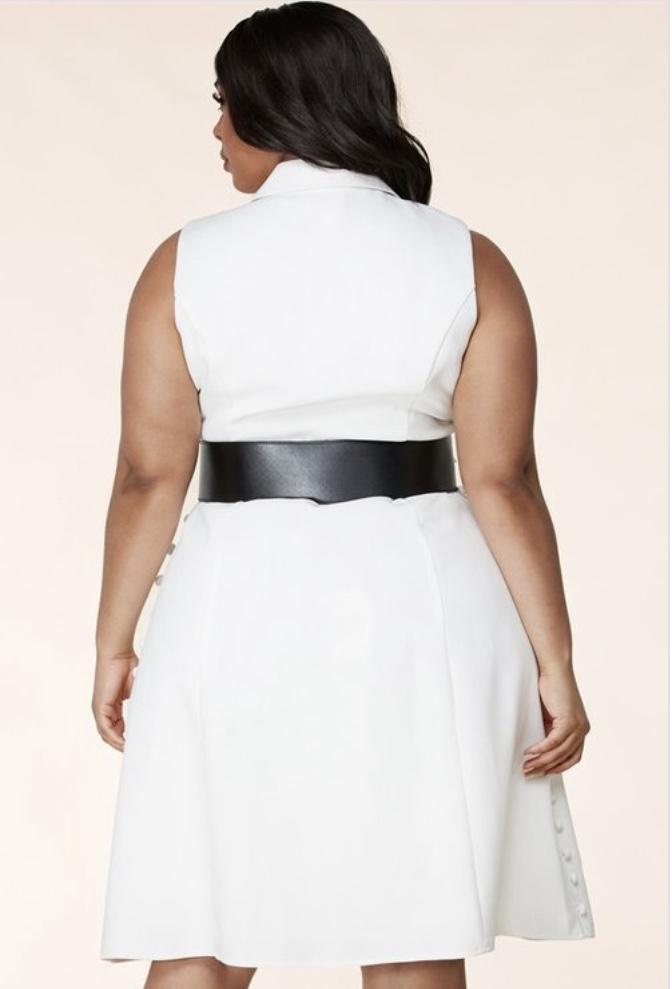 Michelle Adorned Midi Dress