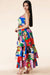 Karima Multi Art Maxi dress