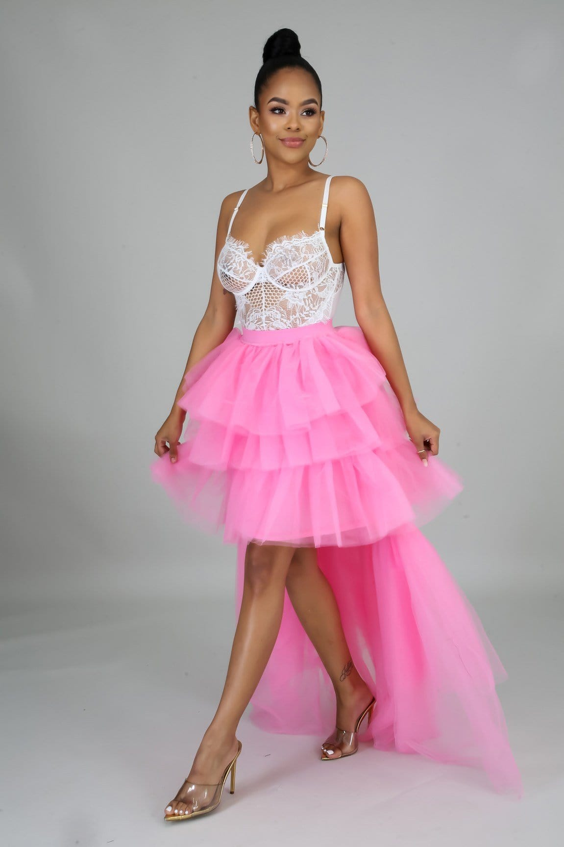 Blush Crush Tulle Skirt
