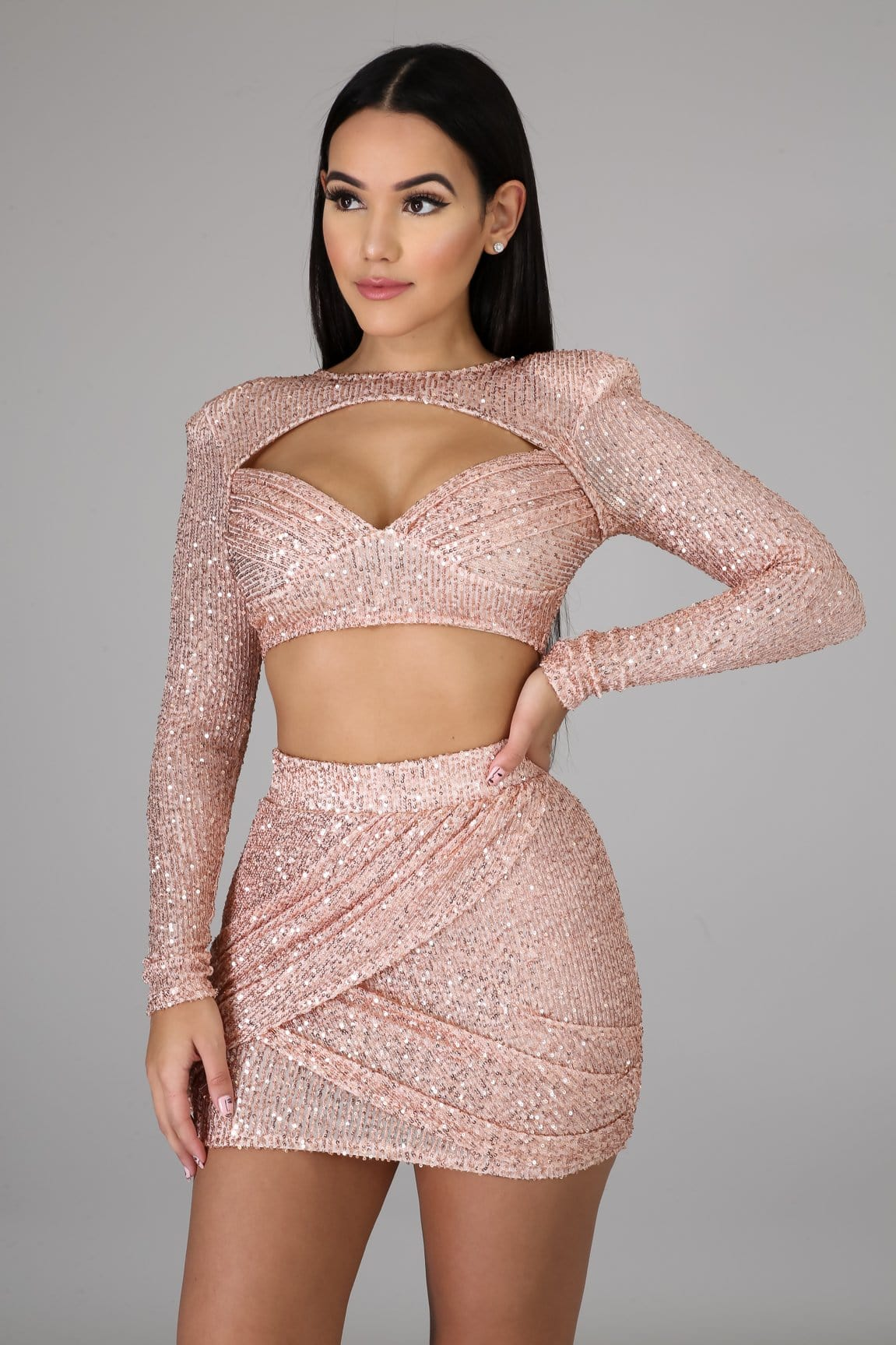 Star Of The Party Skirt Set