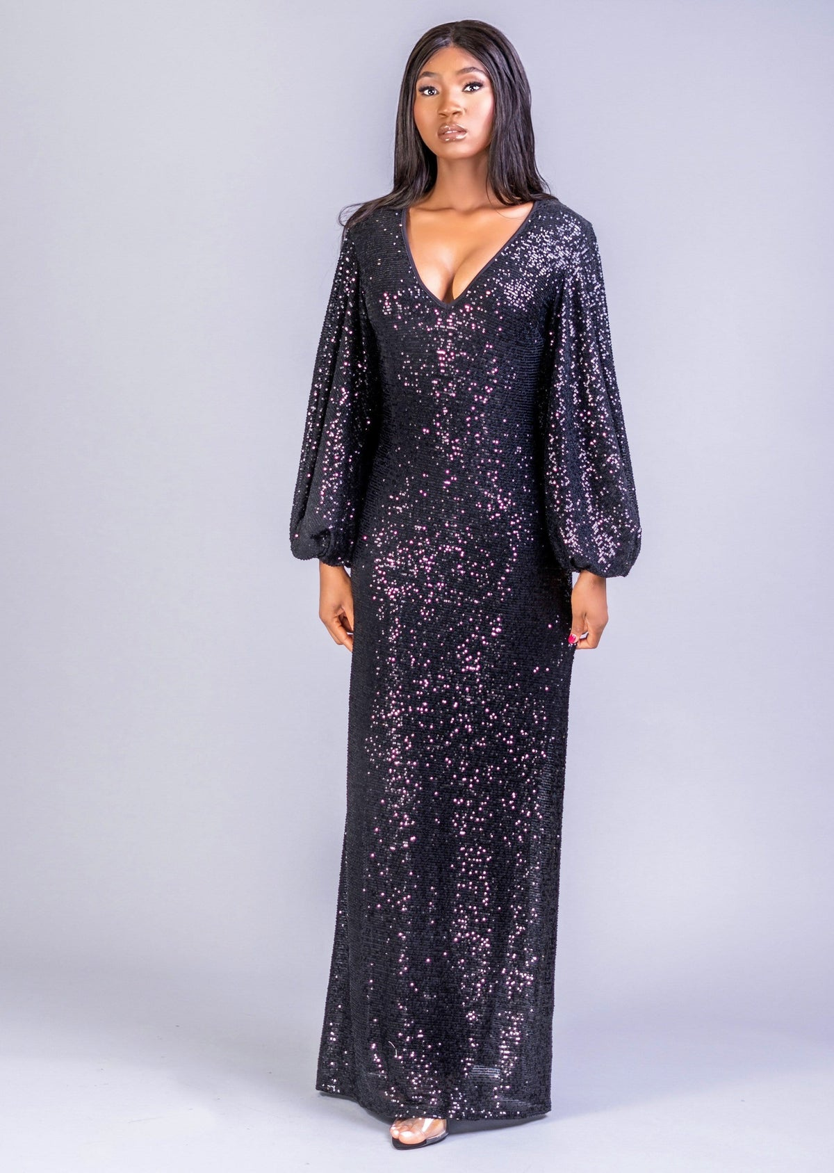 Muna Royal Everything Sequins Dress