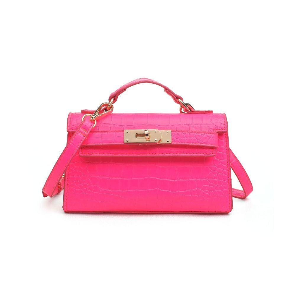 Georgina Croc Top Handle Mini Bag