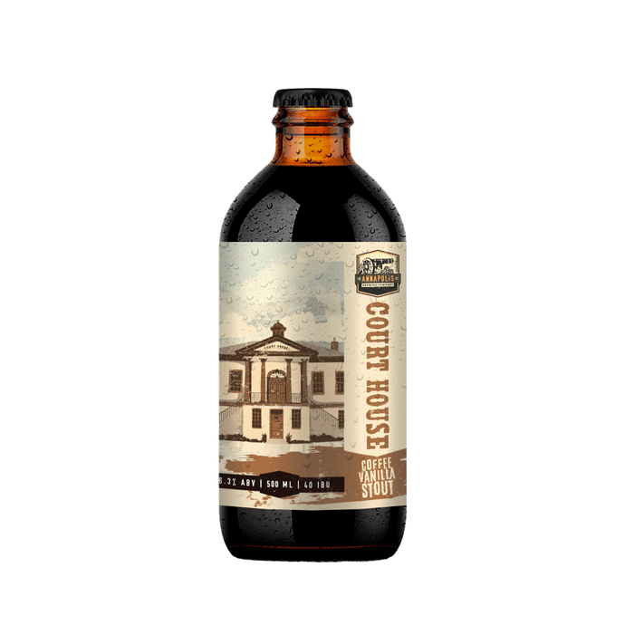 Court House Coffee Vanilla Stout
