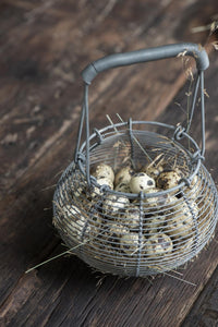 Cesta huevera - Wire egg basket