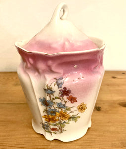 Azucarero antiguo en porcelana - Antique porcelain sugar pot