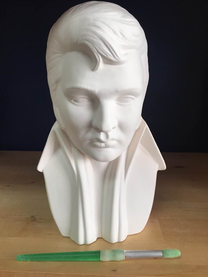 Elvis Bust - Thankyouverymuch