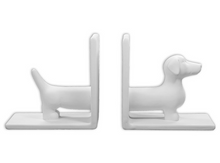 Load image into Gallery viewer, Wiener Dog Book Ends