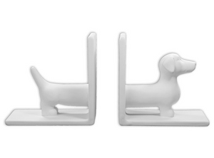 Wiener Dog Book Ends