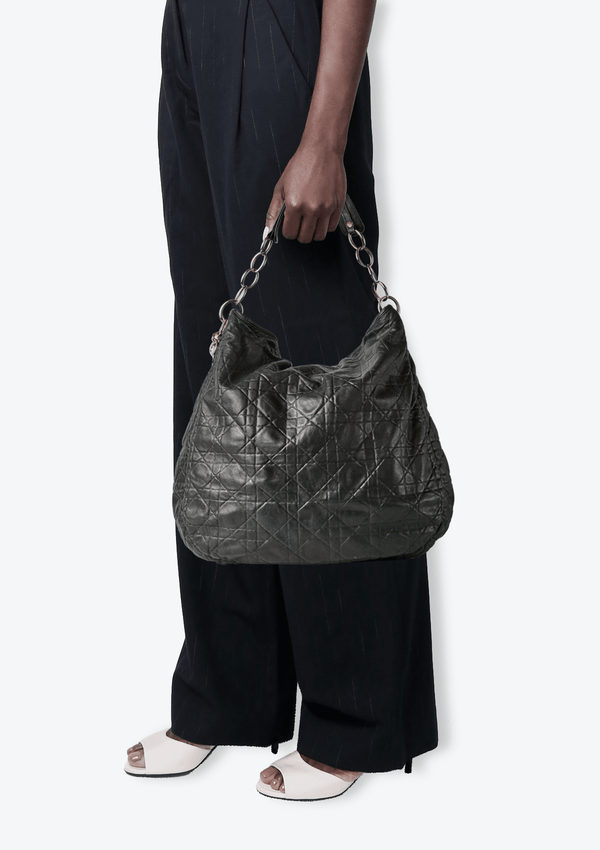 CANNAGE LEATHER HOBO