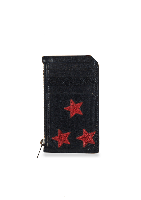 RED STAR CARD HOLDER