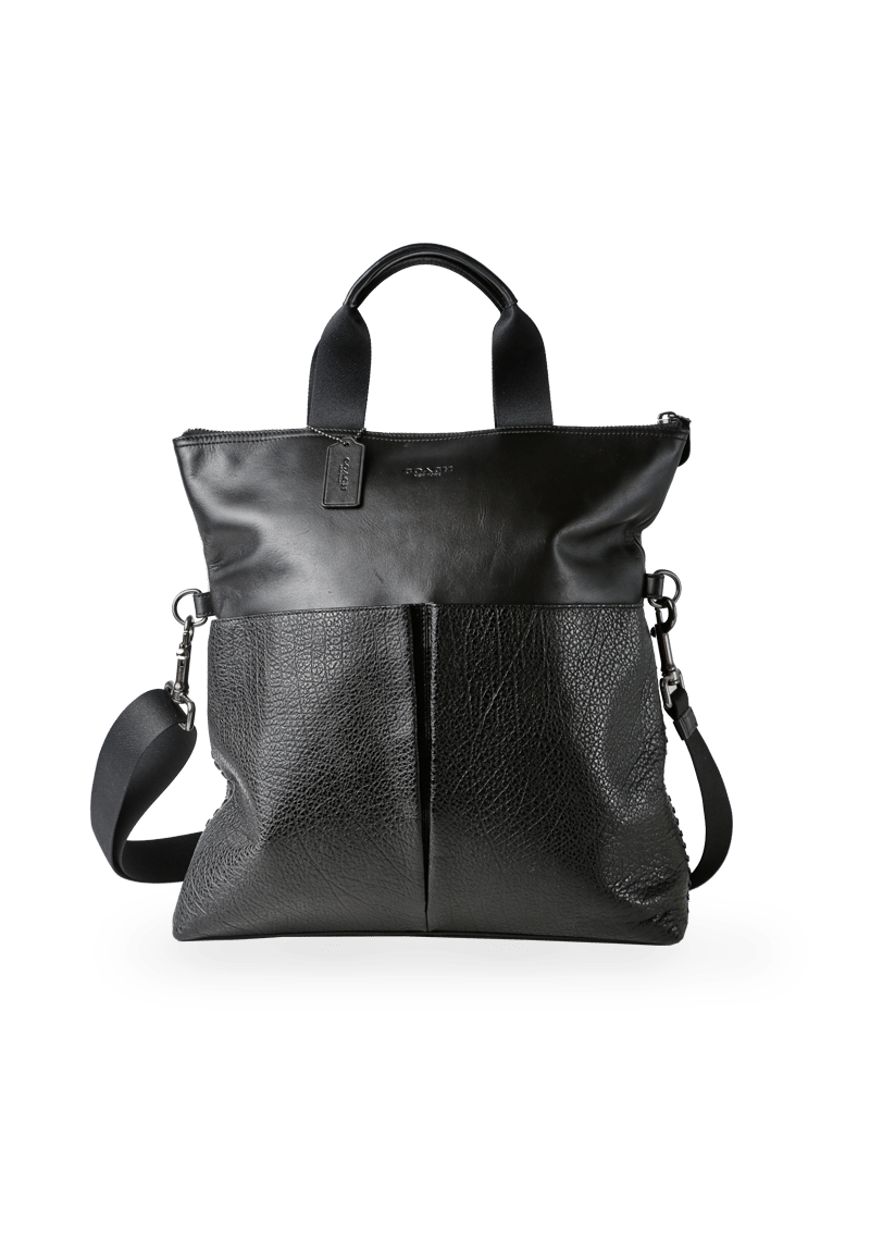 LEATHER CONVERTIBLE SATCHEL