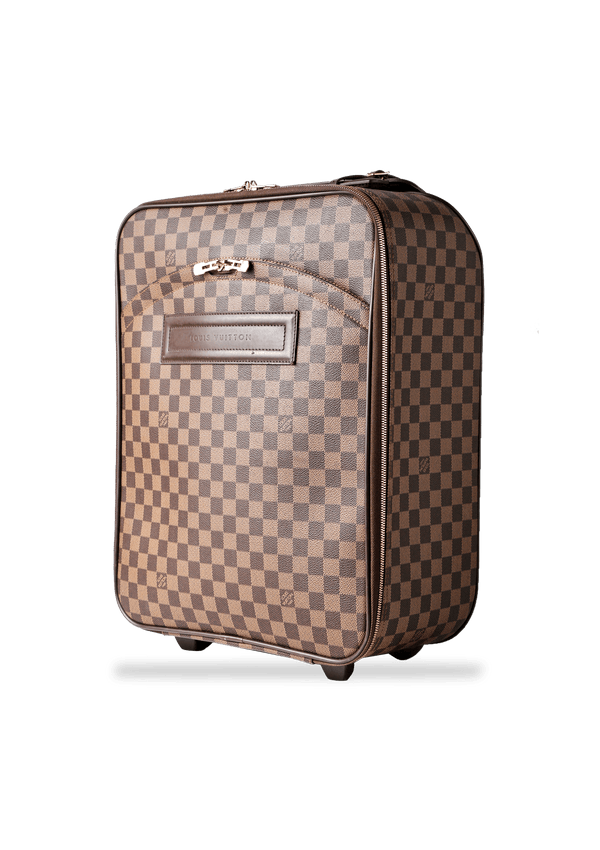 MALA DAMIER EBENE PÉGASE 45 BUSINESS LOUIS VUITTON MARROM ORIGINAL