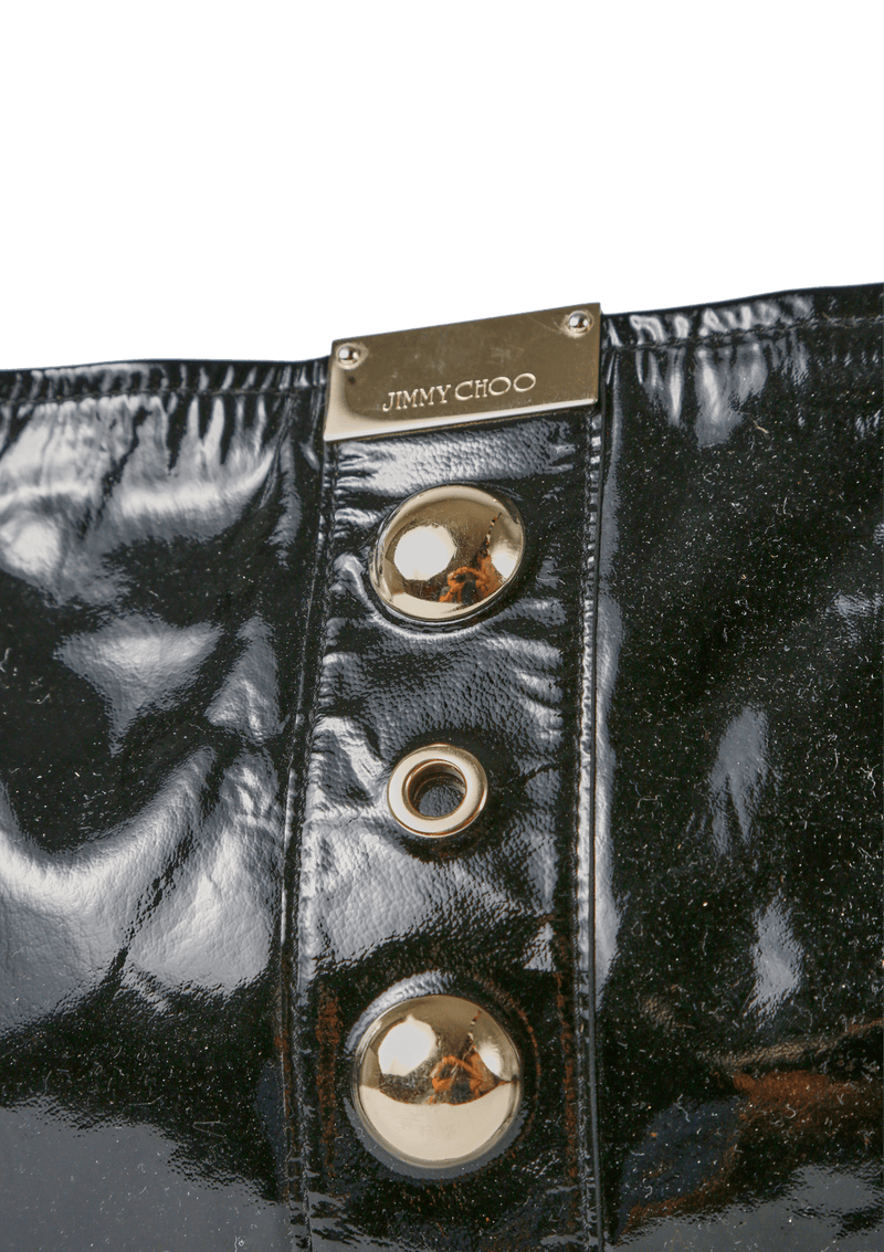 STUDDED PATENT LEATHER ZULU