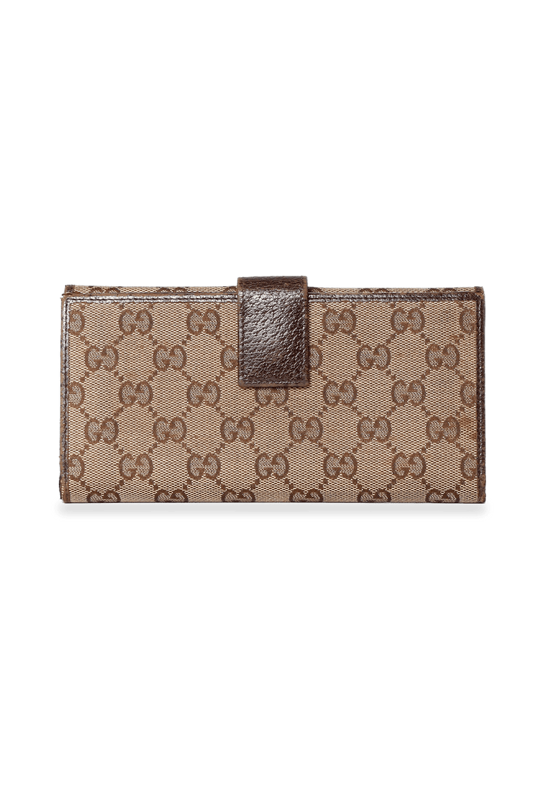 GG CANVAS CONTINENTAL WALLET