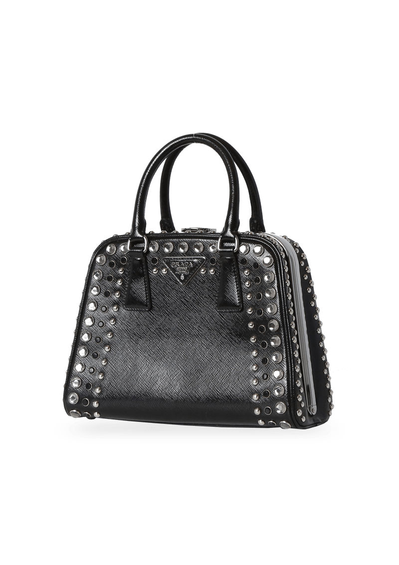 STUDDED PYRAMID BAG