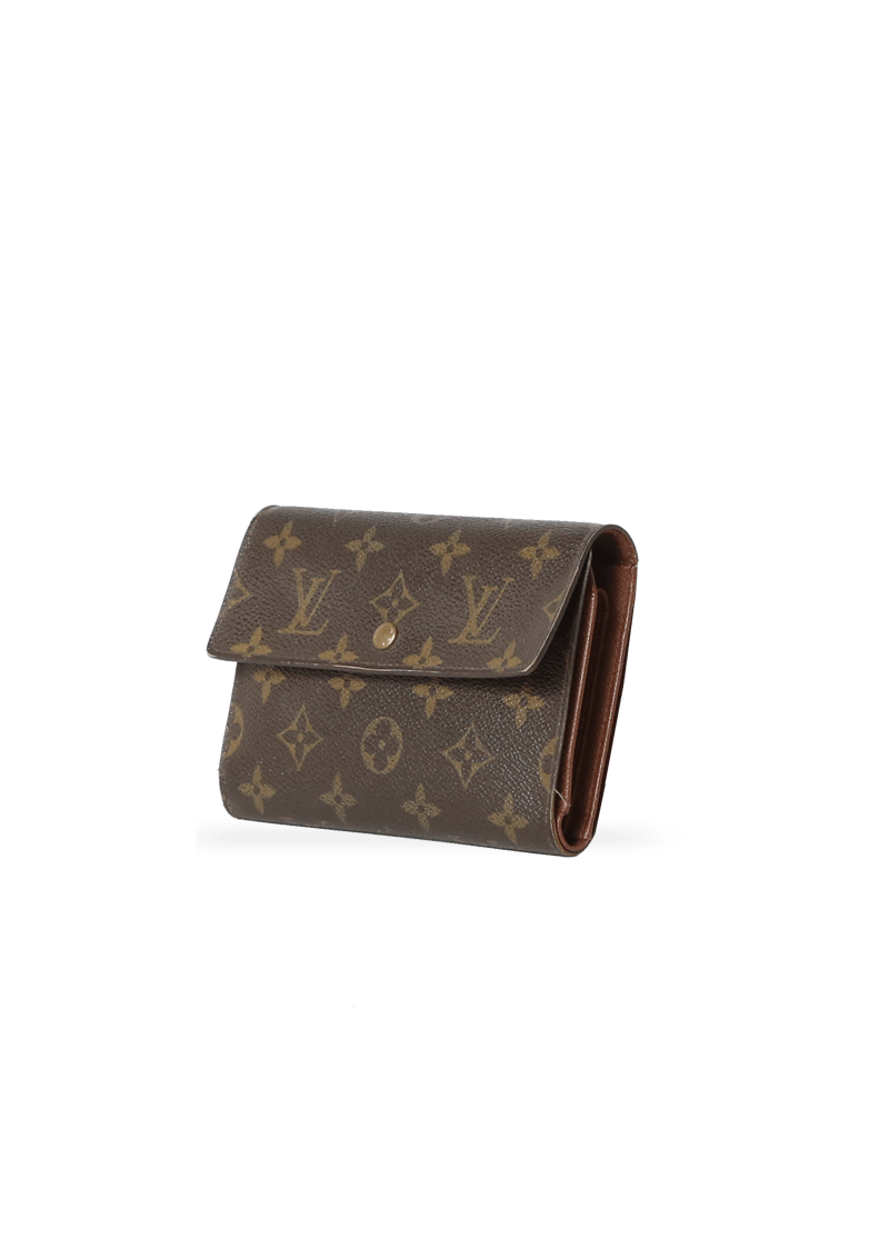 MONOGRAM TRIFOLD WALLET