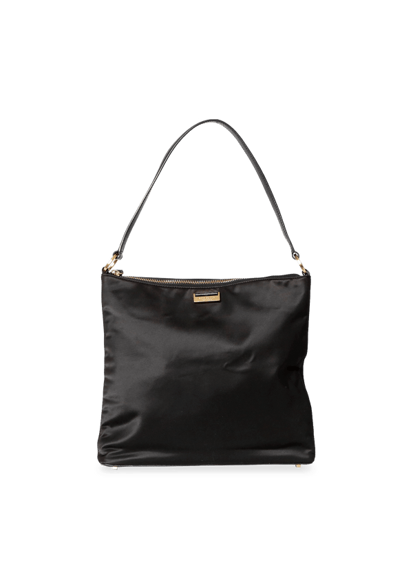 SATIN BLACK BAG