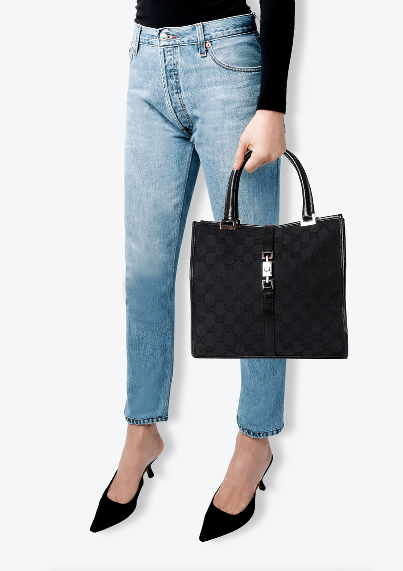 GG CANVAS NEW JACKIE TOTE