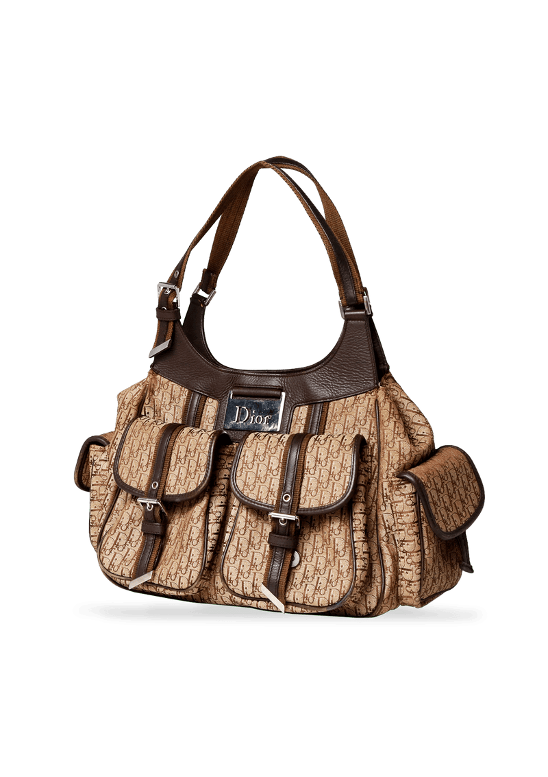 LEATHER-TRIMMED DIORISSIMO