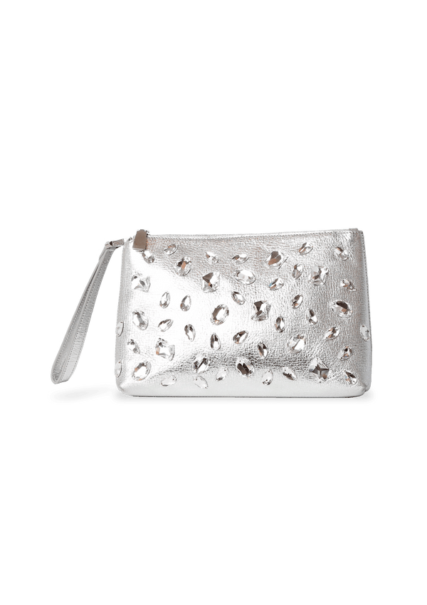 CRYSTAL WRISTLET BAG