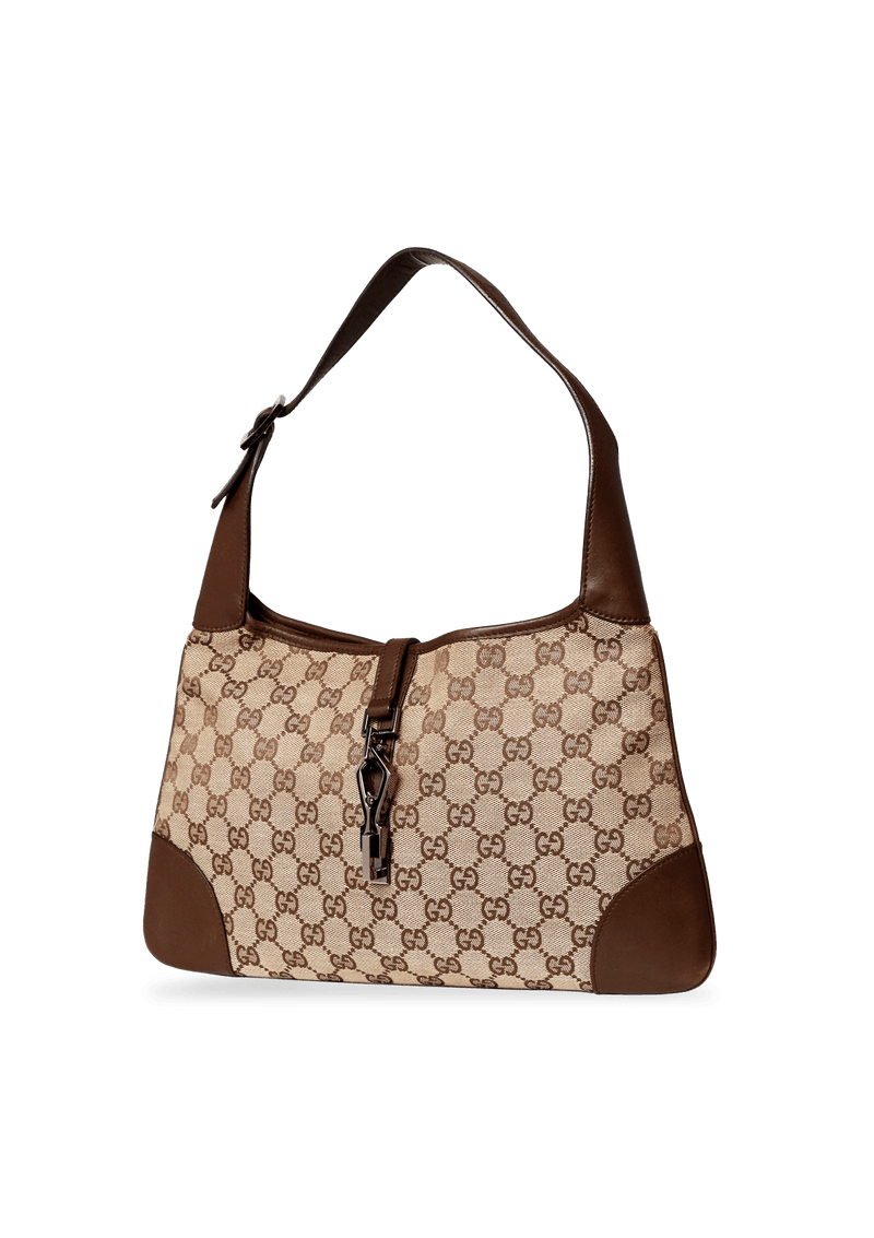 VINTAGE GG CANVAS HOBO
