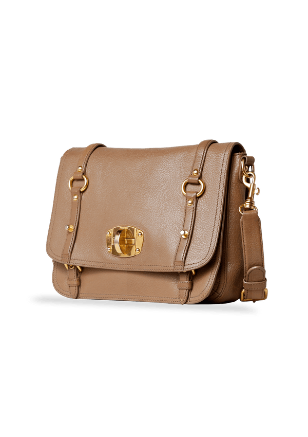 LEATHER FLAP