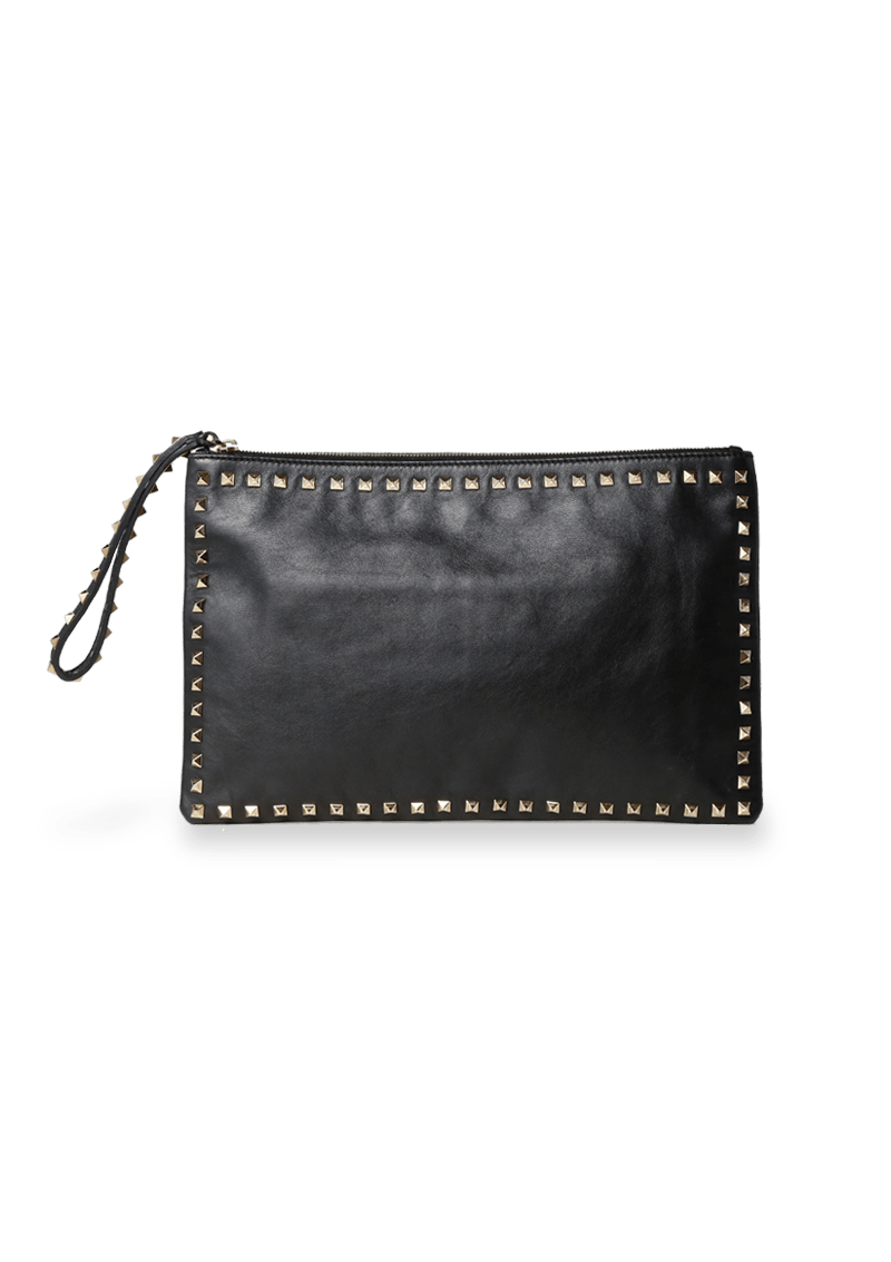 ROCKSTUD LEATHER
