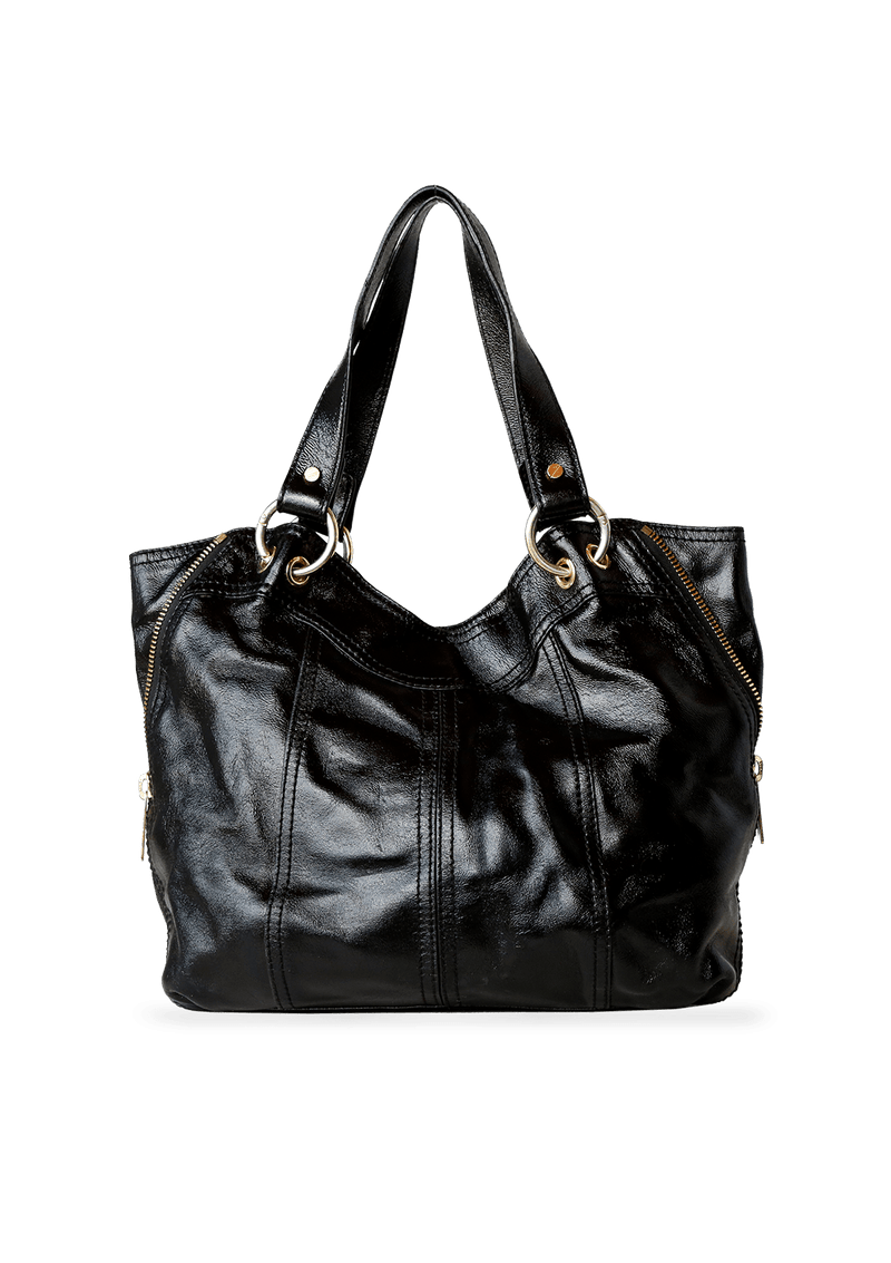 LEATHER BEDFORD BAG