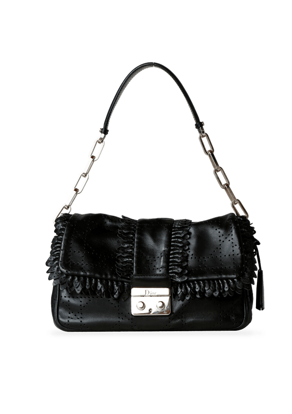 CANNAGE SHOULDER BAG CHRISTIAN DIOR PRETO ORIGINAL
