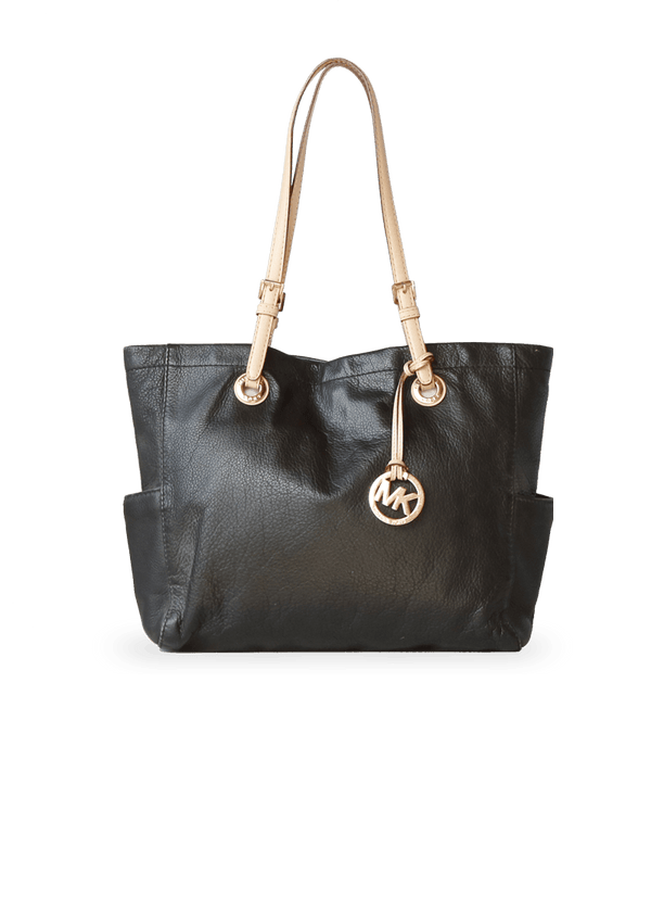 LEATHER JET SET TOTE