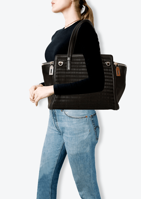 GANCINO LEATHER TOTE