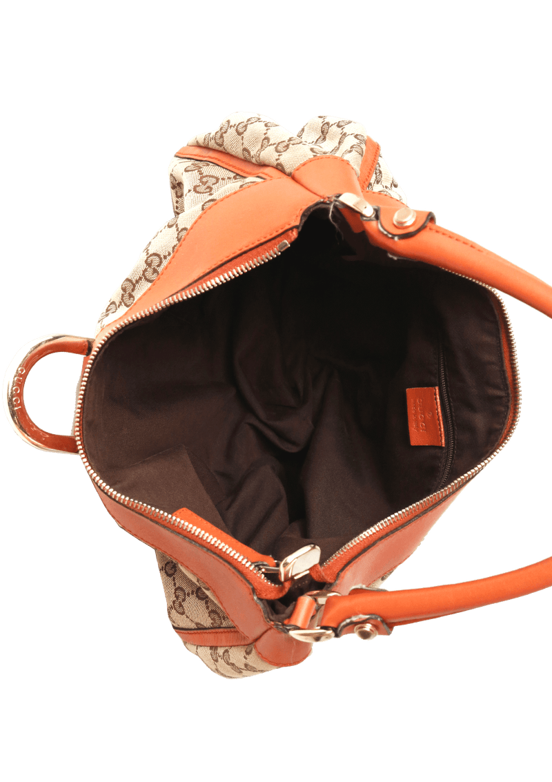 GG CANVAS D-RING HOBO