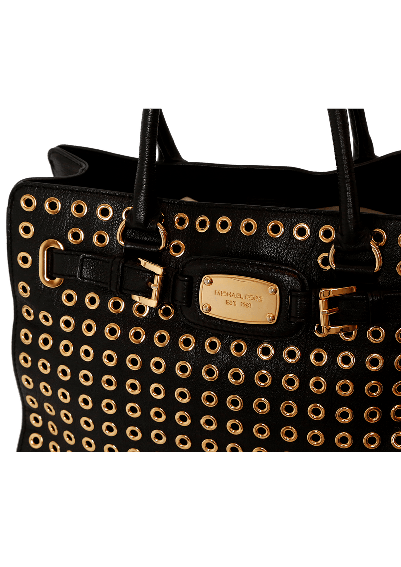 EMBELLISHED SATCHEL BAG