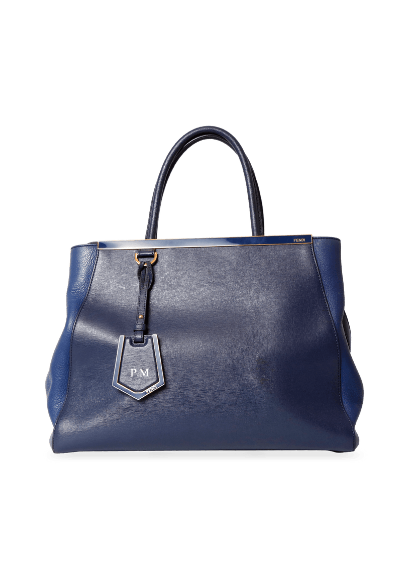 2JOUR BAG FENDI AZUL ORIGINAL