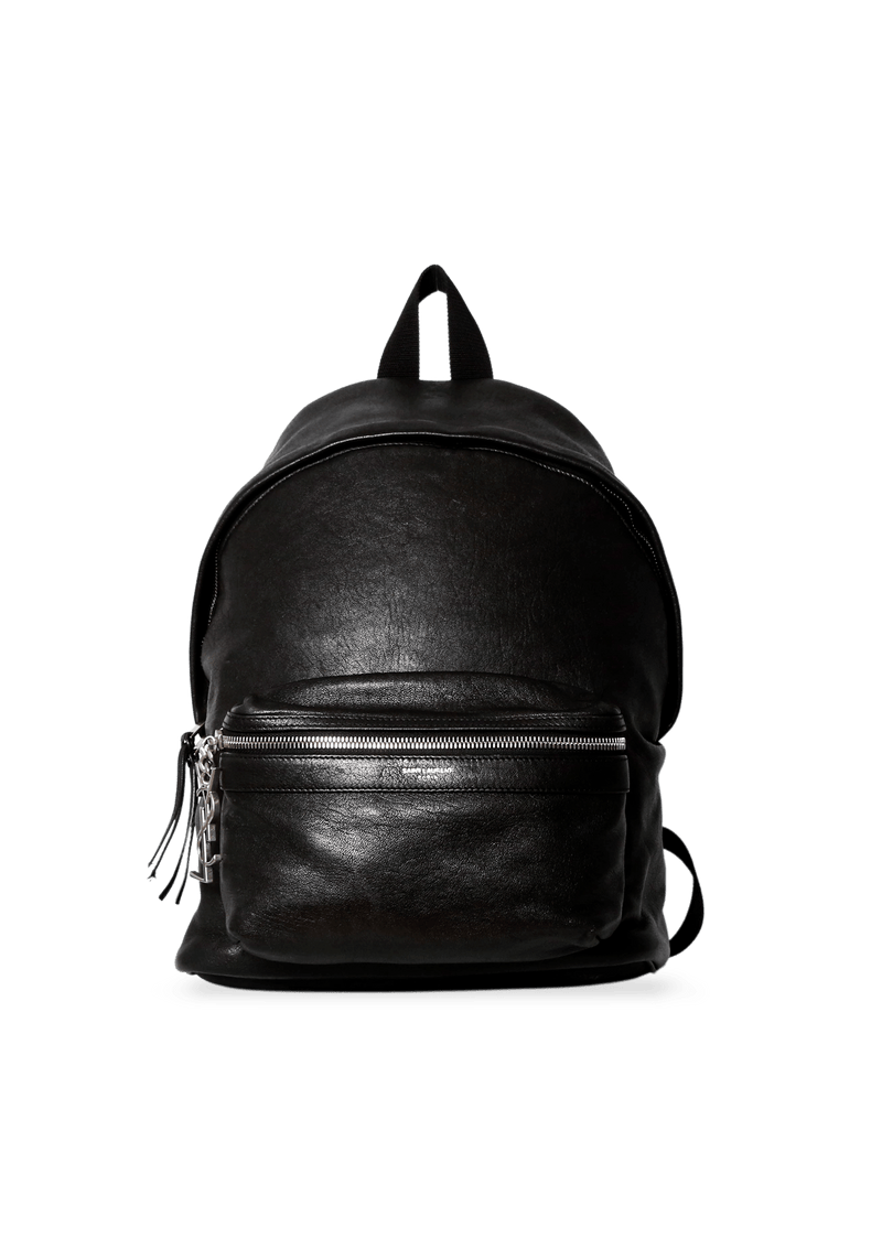 BOLSA MINI CITY BACKPACK BALMAIN PRETA ORIGINAL