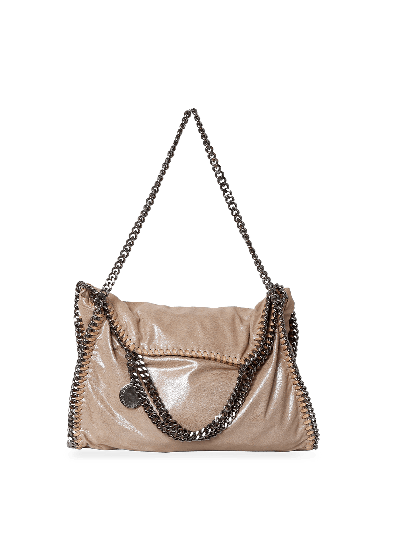 BOLSA SHAGGY DEER FALABELLA SATCHEL STELLA MCCARTNEY BEGE ORIGINAL