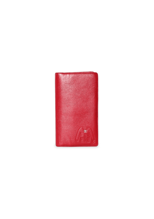 CC JACKET EMBOSSED YEN WALLET