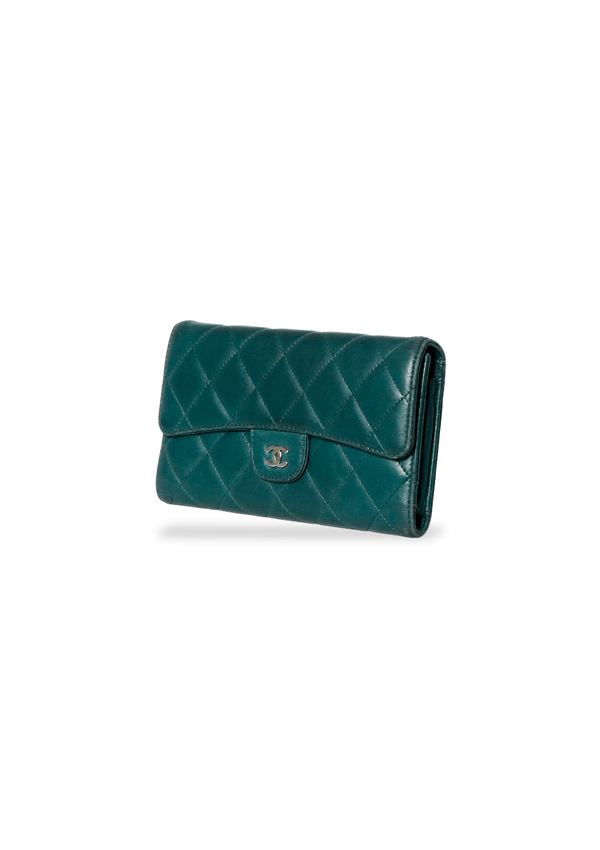 CLASSIC LONG FLAP WALLET