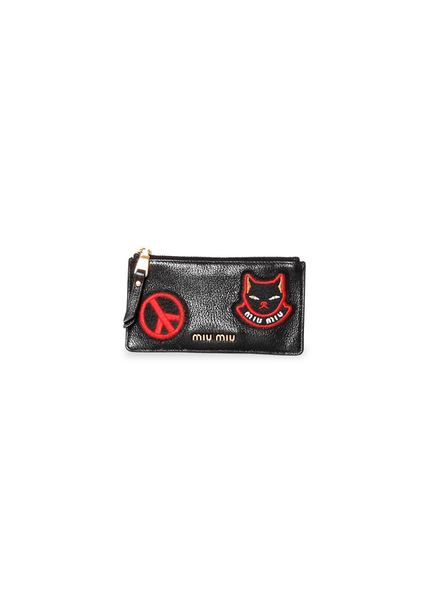 LIMITED EDITION PATCH LOGO BLACK CAT