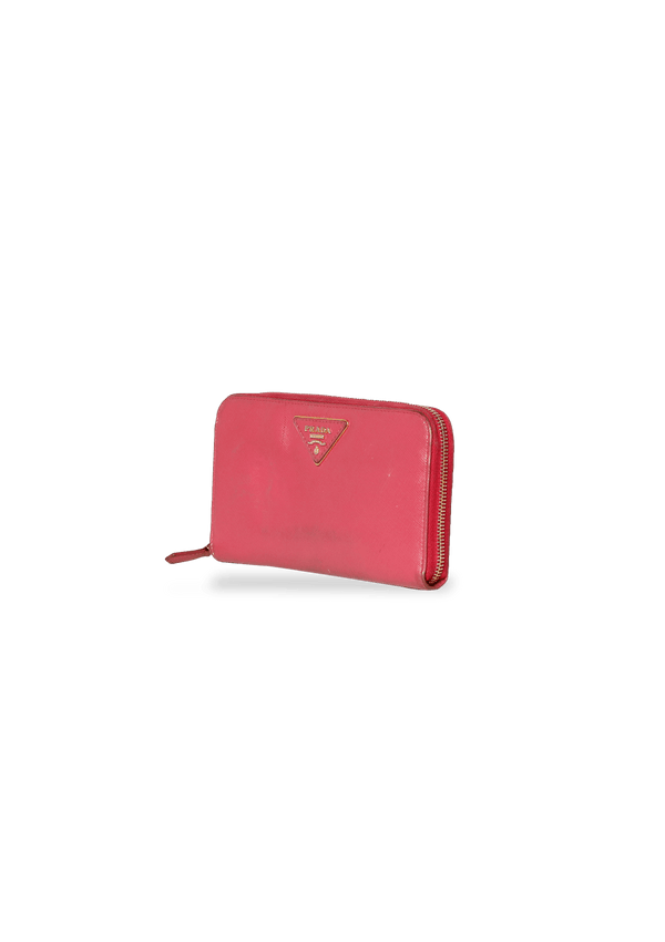 SAFFIANO ZIPPY WALLET