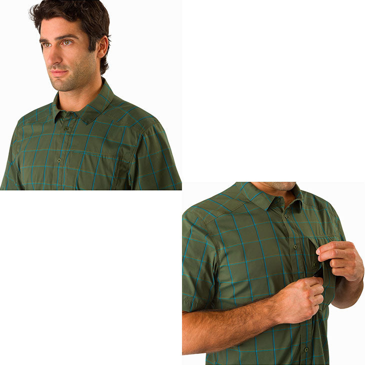 Riel short sleeves shirt Men's