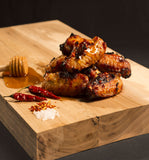 Chicken wings - honey and chilli