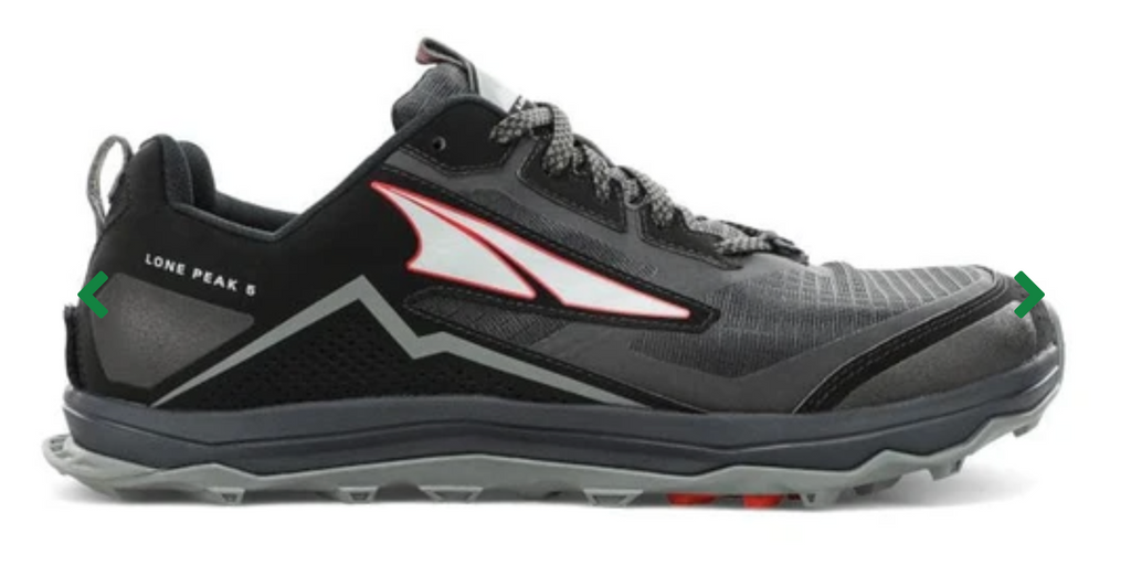 Lone Peak 5 (Black slate red)