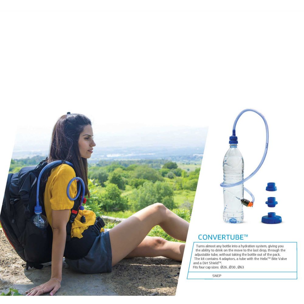 Convertube - Water Bottle Adaptor