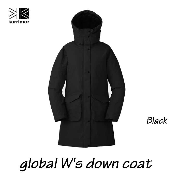 Global W's down coat