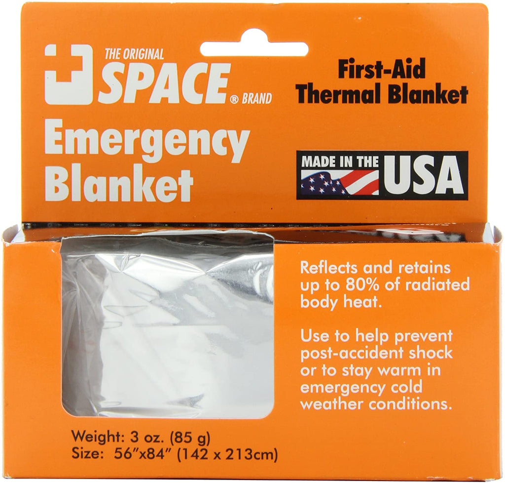 Emergency space blanket (silver)