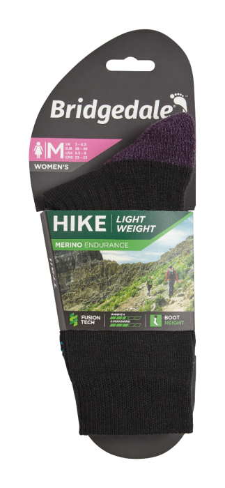 Women's Hike Lightweight Boots socks